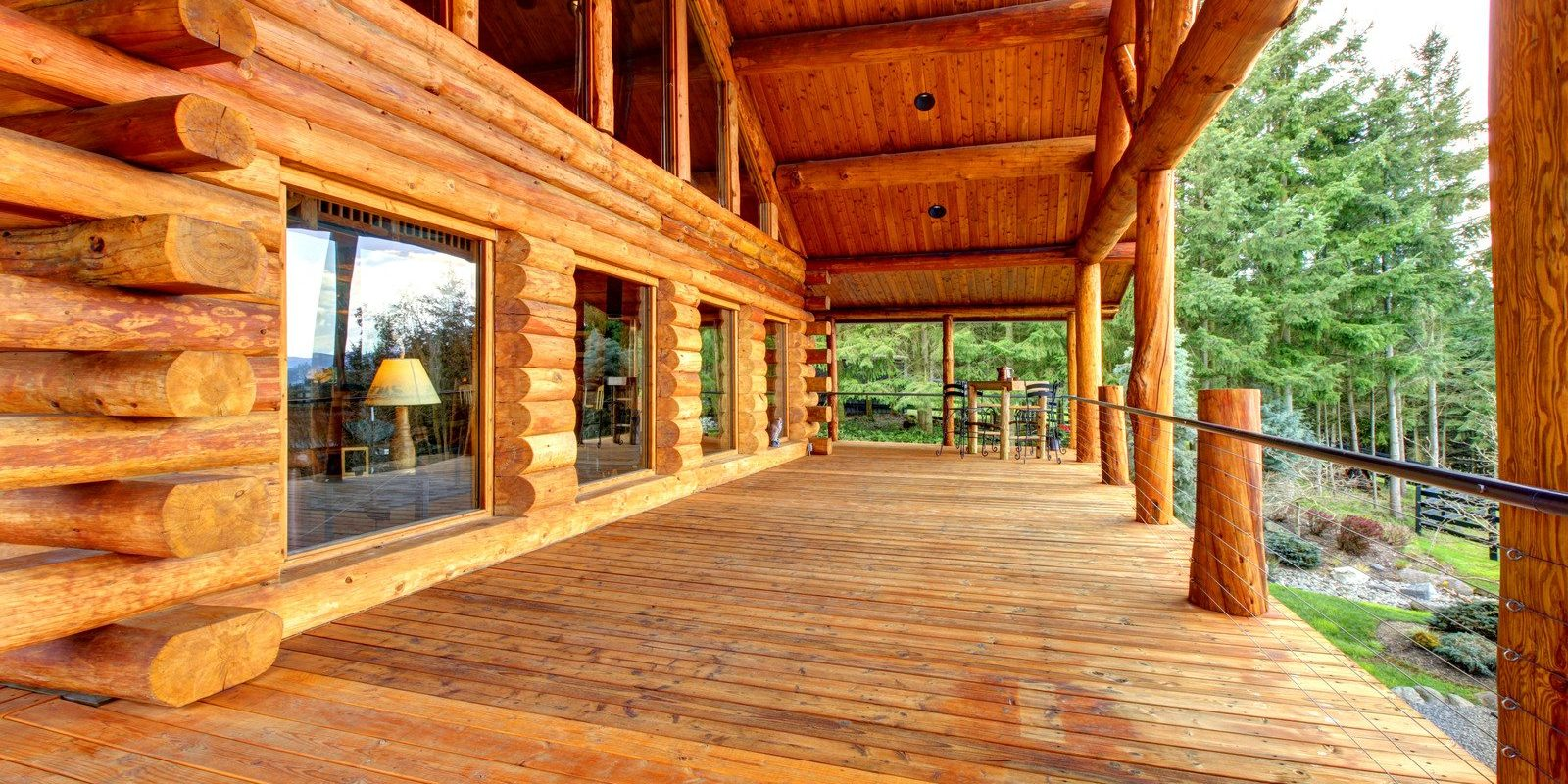 Log Home Restoration VA, TN, WV
